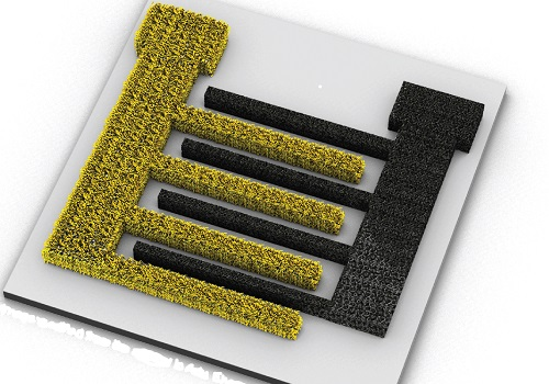 Three-dimensional porous electrodes could lead to smaller and efficient integrated power sources.