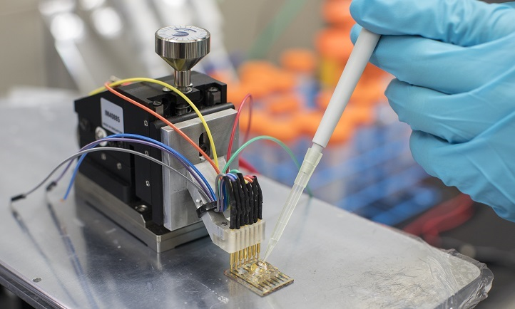KAUST researchers have developed a biosensor that can be adapted in a micron-scale transistor configuration to detect any metabolite of interest.