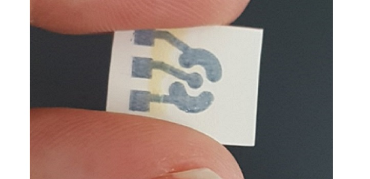 This inset-printed sensor holds promise for inexpensive and easy monitoring of chronic diseases.