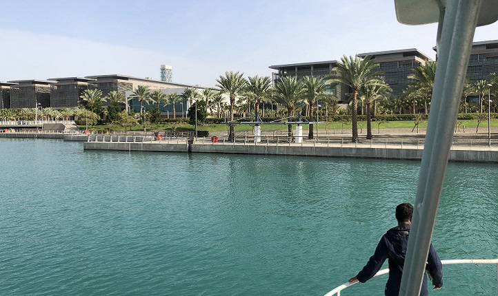 KAUST Harbor sampling site.
